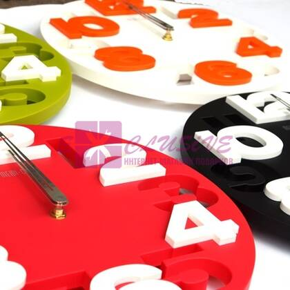 Часы настенные 3D (комбо)