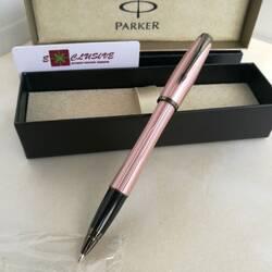 Ручка Parker, розовая (текстура, вставки графит)