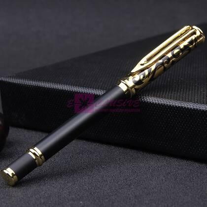 Подарочная ручка с женским узором, матовая
