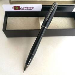 Ручка Parker, черная (текстура, вставки графит)