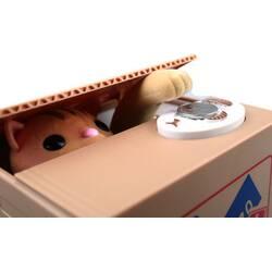 """Копилка """"Кошка в ящике"""""""
