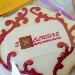Пряники с вашим логотипом (печать)