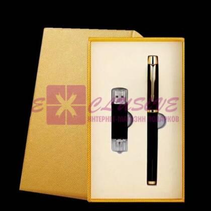 Подарочный набор - ручка и флешка