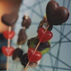 Сладкий букет - оригинальный подарок ко дню Святого Валентина