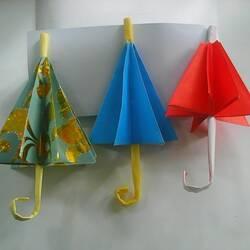 Зонтик-оригами своими руками