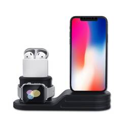Зарядная док-станция для iPhone, Apple Watch и AirPods