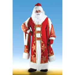 Костюм Деда Мороза (боярские рукава)