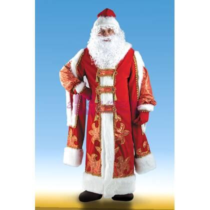 Костюм Деда Мороза с боярскими рукавами