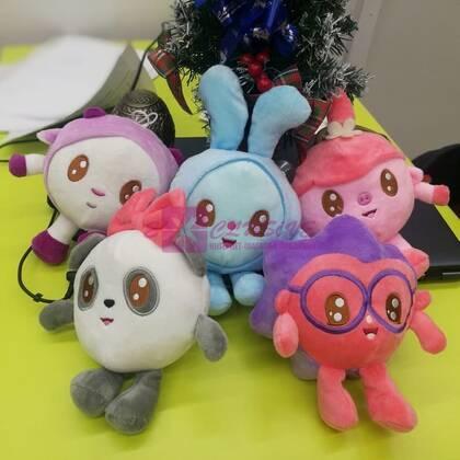 Мягкие игрушки Малышарики (музыкальные)