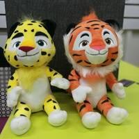 Мягкие игрушки Лео и Тиг
