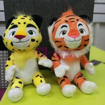 Мягкие игрушки Лео и Тиг (музыкальные)