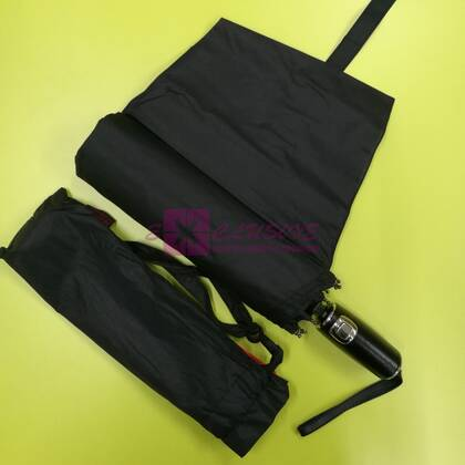Зонт с кожаной ручкой